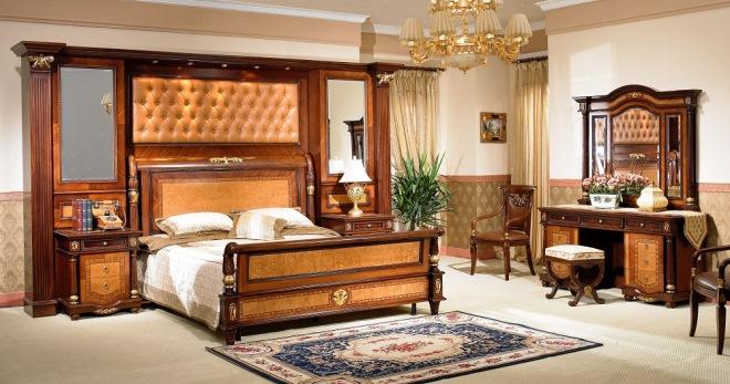 Спальни из дерева