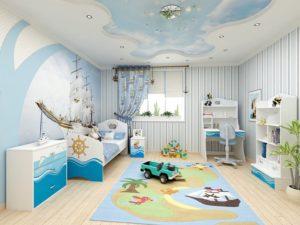 Несколько советов, как обустроить детскую комнату