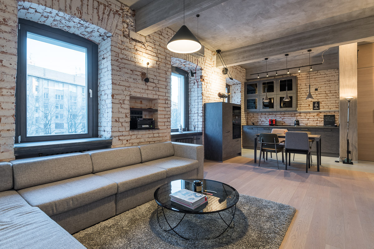 мужской интерьер в квартире